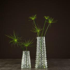 Vase Glass Bubblan 11x29,5cm 1 st , hemmetshjarta.no