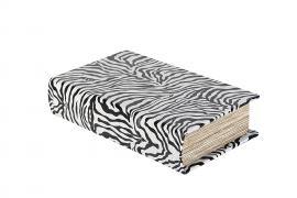 Bok lagring Zebra 21x13x5cm , hemmetshjarta.no