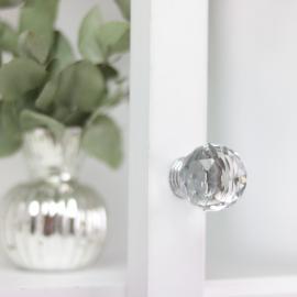 Knott Diamond rund topp 6x3 cm , hemmetshjarta.no