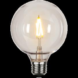 LED-Lampe E27 Outdoor Lighting G95 , hemmetshjarta.no