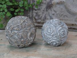 Fransk dekorasjon Ball med mønster Ø14 cm 1 stk , hemmetshjarta.no