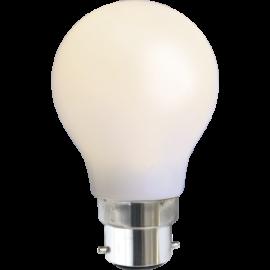 LED-Lampe B22 Outdoor Lighting A55 Opal , hemmetshjarta.no