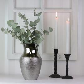 Vase Lyx 24,5 cm - sølv , hemmetshjarta.no