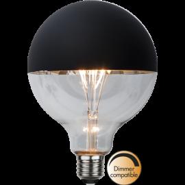 LED-Lampe E27 Top Coated G125 Dim , hemmetshjarta.no