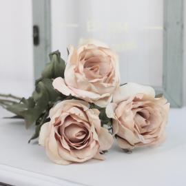 Kunstig Rose 60 cm , hemmetshjarta.no