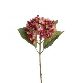 Kunstig Hortensia 40 cm , hemmetshjarta.no