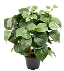 Kunstig Philodendron 35 cm , hemmetshjarta.no