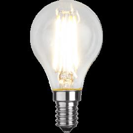 LED-Lampe E14 Ø45 lm470/40w Clear , hemmetshjarta.no
