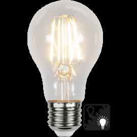 LED-Lampe E27 Sensor Ø60 lm420/37w Clear , hemmetshjarta.no