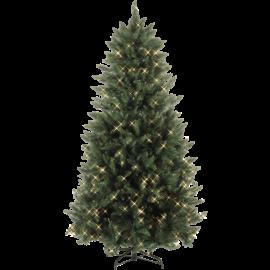 XX Juletre med LED Calgary EL Utendørs Varm Hvit 450 Lys 140x210cm , hemmetshjarta.no