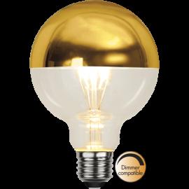LED-Lampe E27 Top Coated Ø95 lm330/31w Gold , hemmetshjarta.no