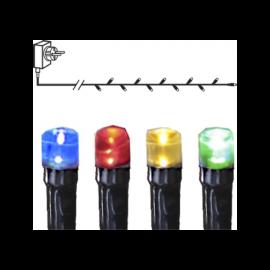 Lyslenke Utendørs EL Serie Micro LED Multi 120 Lys 720cm , hemmetshjarta.no