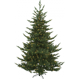 XX Juletre med LED Brekstad EL Utendørs Varm Hvit 460 Lys 150x210cm , hemmetshjarta.no