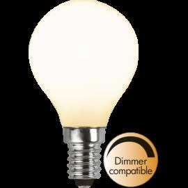 LED-Lampe E14 Ø45 Dim lm470/40w Frostet , hemmetshjarta.no