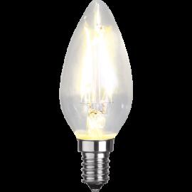 LED-Lampe E14 Ø35 lm250/25w Clear , hemmetshjarta.no