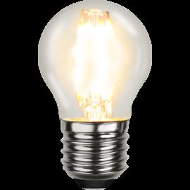 LED-Lampe E27 Ø45 lm470/40w Clear , hemmetshjarta.no