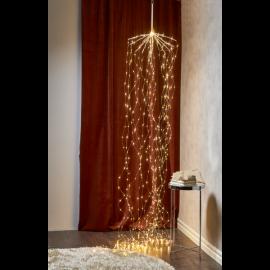 Lyslenke Dew Drop EL Varmhvit 600 lys 45x320cm 20 strenger , hemmetshjarta.no