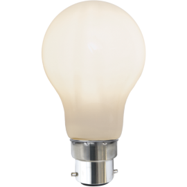 LED-Lampe B22 Ø60 lm806/60w Frostet , hemmetshjarta.no