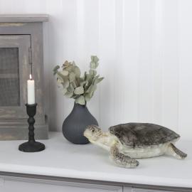 Skildpadde Naturlig Poly 30x30x10cm , hemmetshjarta.no