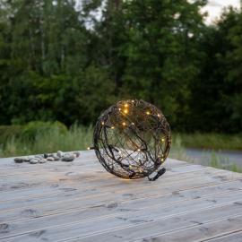 Utendørsdekorasjon System LED EL Ball Varmhvit 30 lys 35cm , hemmetshjarta.no