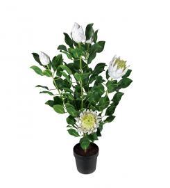 Kunstig Protea. 120 cm , hemmetshjarta.no