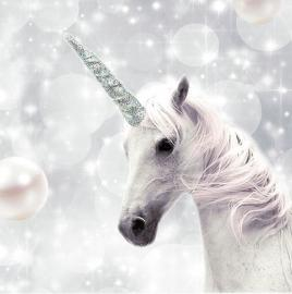 Serviett - Unicorn , hemmetshjarta.no