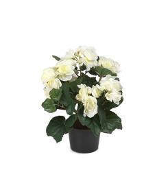 Kunstig Begonia 28 cm , hemmetshjarta.no