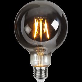 LED-Lampe E27 Plain Smoke G95 , hemmetshjarta.no