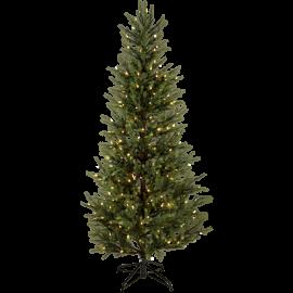 XX Juletre med LED Malung EL Utendørs Varm Hvit 240 Lys 96x200cm , hemmetshjarta.no