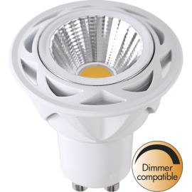 LED-Lampe GU10 MR16 Spotlight Cob Reflector Dim , hemmetshjarta.no