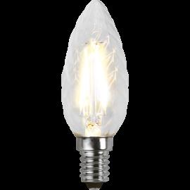 LED-Lampe E14 Twist Ø35 lm250/25w Clear , hemmetshjarta.no