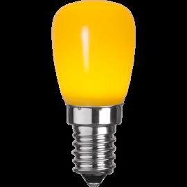 LED-Lampe E14 ST26 Outdoor Lighting ST26 Gul , hemmetshjarta.no