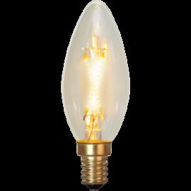 LED-Lampe E14 Soft Glow C35 , hemmetshjarta.no