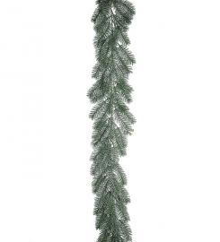 Kunstig Girlander Gran med frost 180 cm , hemmetshjarta.no