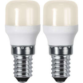 LED-Lampe E14 Ø26 lm130/14w Basic Frostet 2-pakning , hemmetshjarta.no