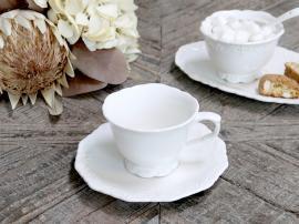 Provence - Kaffekopp med fat , hemmetshjarta.no