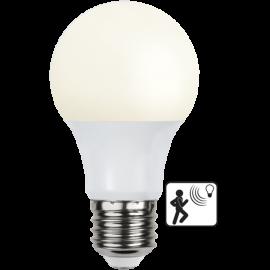 LED-Lampe E27 Sensor Ø60 lm806/60w Frostet , hemmetshjarta.no