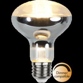 LED-Lampe E27 Reflector Ø80 Dim lm650/51w Clear , hemmetshjarta.no
