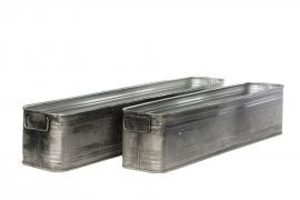 Krukke Firkantet Coudy/Rust 50x8,5x11cm 2-pakning , hemmetshjarta.no