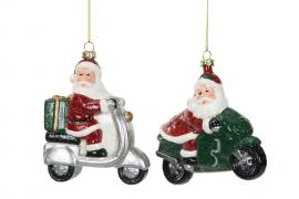 Juleniss på kjøretøy henge Mix 12x10 / 10x11cm 2-pack , hemmetshjarta.no