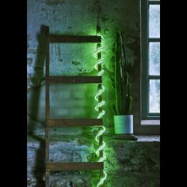 Lysslange FlatNeonLED Utendørs Grønn 480 lys 500cm , hemmetshjarta.no