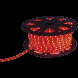 Lysslange Ropelight Micro Reel Utendørs Rød 1620 lys 4500cm , hemmetshjarta.no