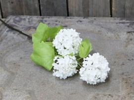 Fleur Duftende snøball H60 / L15 / B12 cm hvit , hemmetshjarta.no