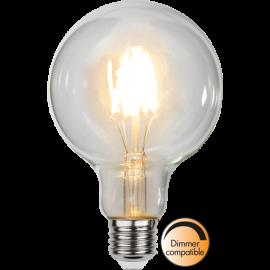 LED-Lampe E27 Ø95 Dim lm470/40w Clear , hemmetshjarta.no