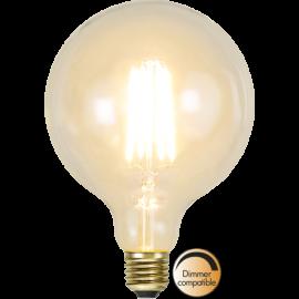 LED-Lampe E27 Soft Glow G125 Dim , hemmetshjarta.no