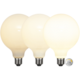 LED-Lampe E27 Ø125 Dim 3-step lm800/60w Frostet , hemmetshjarta.no