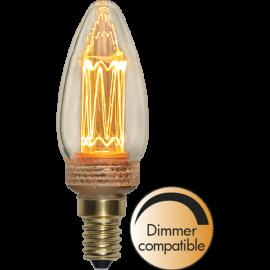 LED-Lampe E14 New Generation Classic C37 Dim , hemmetshjarta.no