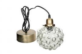 Lampe Globe Glass 15cm , hemmetshjarta.no