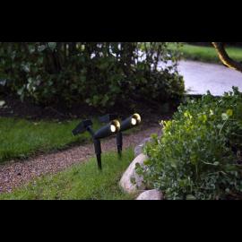 Solcelle spotlight Powerspot 2-pack , hemmetshjarta.no