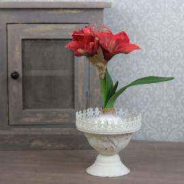 Kunstig Amaryllis 30 cm , hemmetshjarta.no